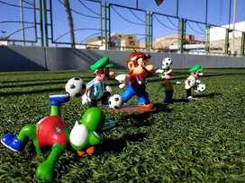 Muñequitos de Mario Bros Super Nintendo 64 switch
