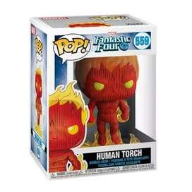 Funko Pop La Antorcha Humana Los 4 Fantásticos Marvel