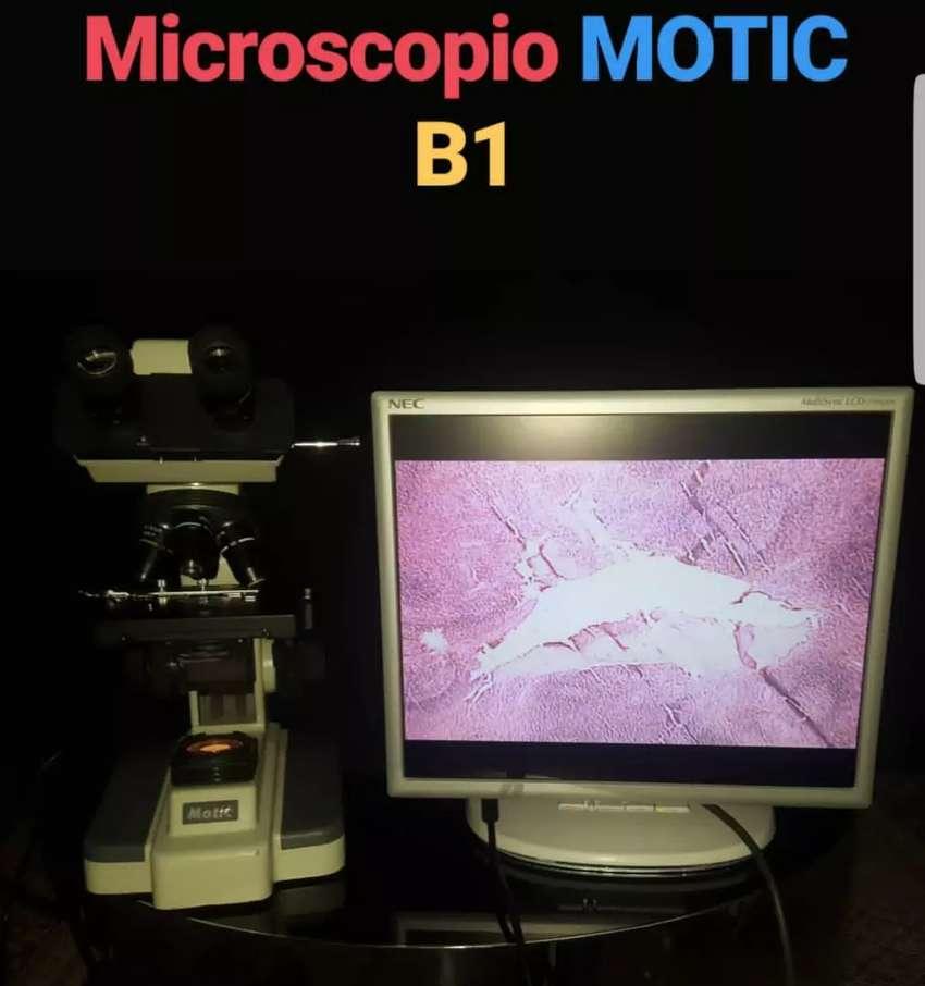 Microscopio Motic B1 video 0