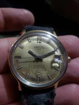 Reloj lanco suizo