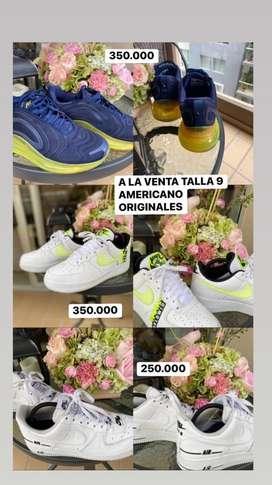 Zapatos originales nike y adidas