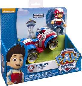Juguete Paw Patrol - Ryder y su Vehículo ORIGINAL Y NUEVO