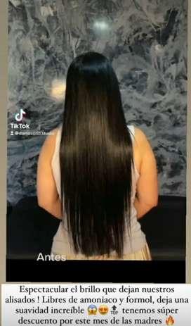 Keratina natural para tu cabello