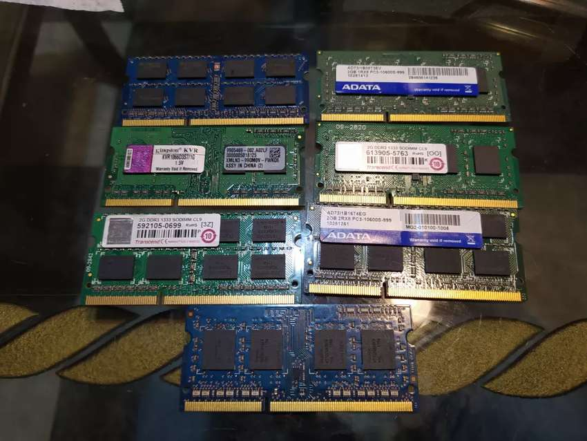 Memoria DDR3 2 gb 0