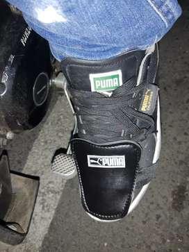 Protector de calzado para el cambio de la moto