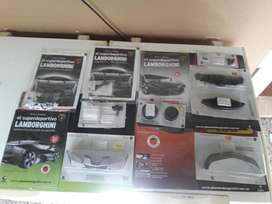 Coleccion Lamborghini Lote Para Armar Del 1, 2, 4 5 NUEVOS!!!