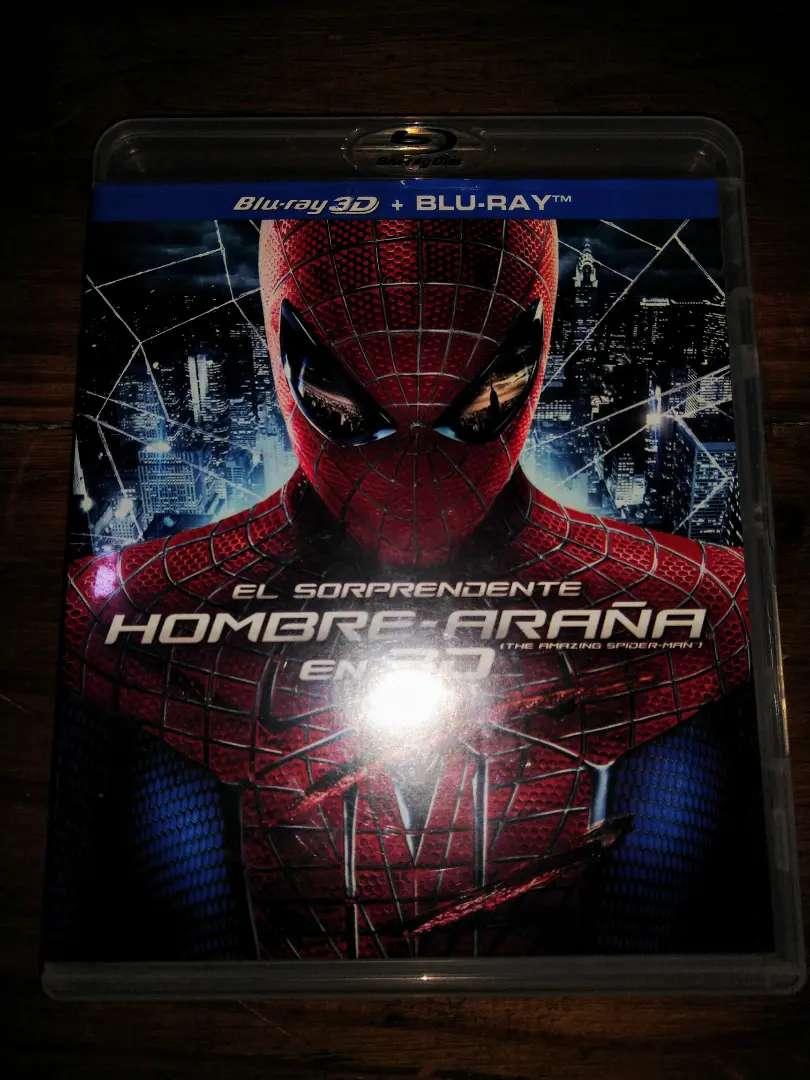 SORPRENDENTE HOMBRE ARAÑA Película Blu-ray 3D 0