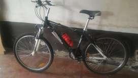 Bicicleta rodado 26 marca Aurora cuadro de aluminio