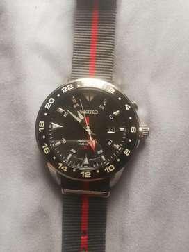 Reloj Seiko sportura kinetic GTM original 10/10 se puede para cambio por televisor o el efectivo