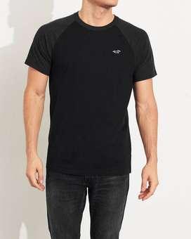 Hollister Camiseta Infaltable con cuello redondo