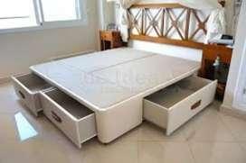 camas modernas de cajones