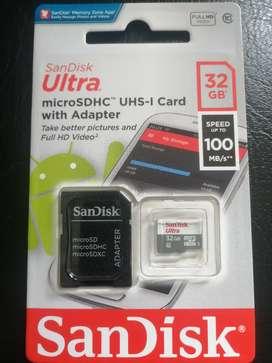 Micro SD de 32 gigas
