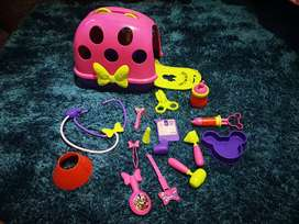 Kit de veterinaria de Minnie Mouse