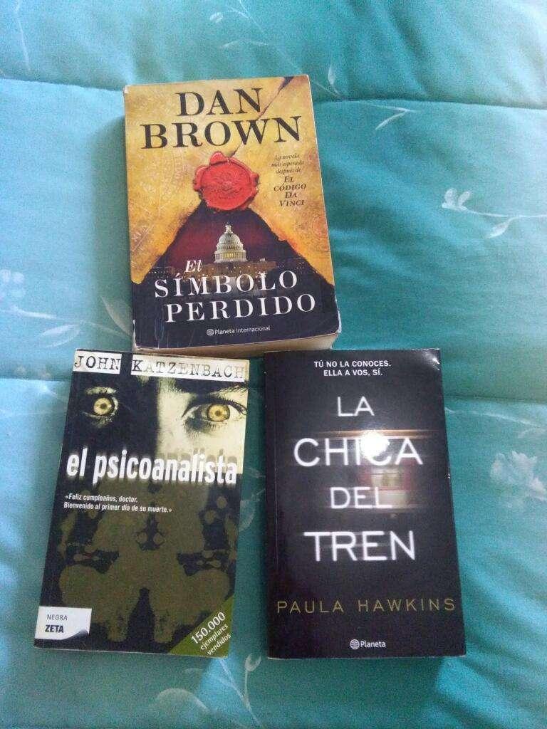 Vendo Tres Espectacular Libros 0