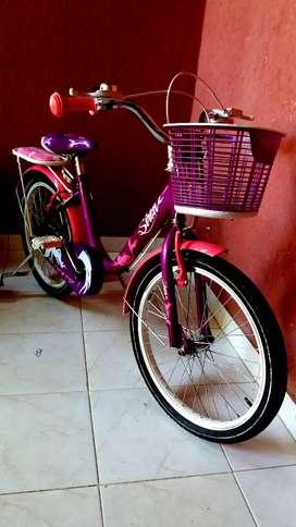 Vendo Hermosa Bicicletas Gw princesa solo dos salidas al parque