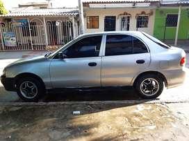 oportunidad  Vendo Hyundai accent modelo 98 exelente  estado