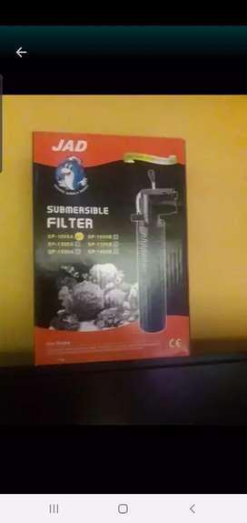 Oxigenador y filtro para pescera