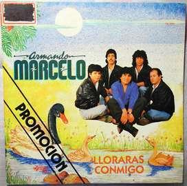 disco vinilo Armando Marcelo looraras conmigo promocion