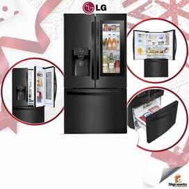 LG REFRIGERADORA SIDE BY SIDE / DOOR IN DOOR / INSTANTVIEW / FRENCH 660 LTRS NEGRA
