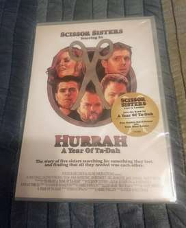 DVD Hurrah A Year of Ta-Dah. Scissor Sisters. Nuevo