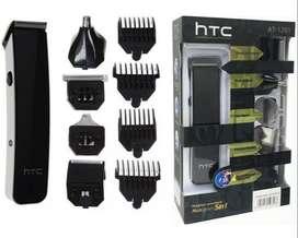 MAQUINA HTC 5 EN 1 (NARIZ, OREJAS, PATILLAS, GUIAS CORTE)