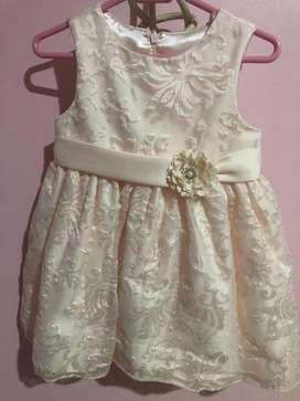 Vestido de Niña Talla 24 Meses