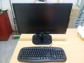 Computadora PC Completa con Monitor 22 Pulgadas