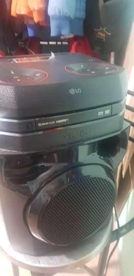 Torre sonido xboom lg dvd hdmi