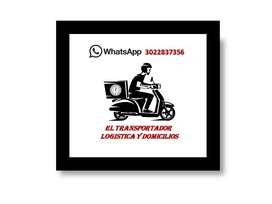 mensajeria el transportador logistica y domicilios