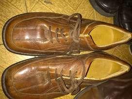 Zapatos d'amigos cuero talla 42