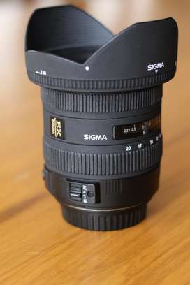 Sigma 10-20mm para Canon (usado)