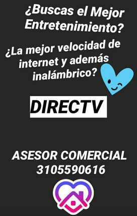 TV SATELITAL+ INTERNET INALÁMBRICO DIRECTV