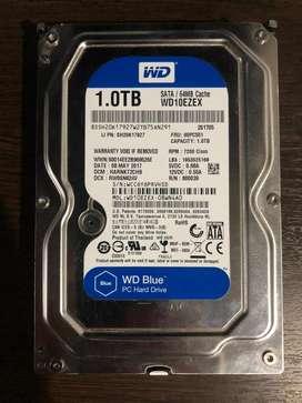 Disco rígido WD blue 1tb
