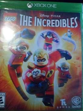 LEGO THE INCREIBLES. Xbox one SELLADO ORIGINAL.