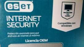 Licencias Antivirus ESET internet security