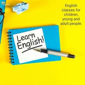Brindo clases de inglés