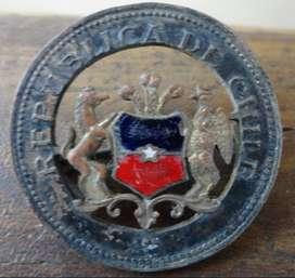Antiguo Pin de Chile de Coleccion