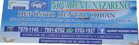 DENTAL, dentistas ,NOVADENT NAZARENO COBAN DEPOSITO DENTAL