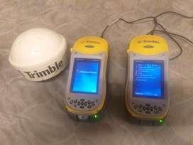 Pareja de GPS submetricos  trimble geoxh y geoxt