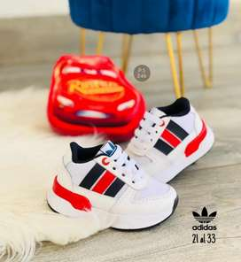 Zapato Tennis Deportivo Adidas Para Niños