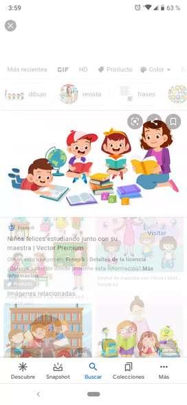 Maestra normalista Superior, clases particulares y cuidadoras de niños y niñas