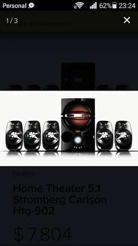 Home theater con usb