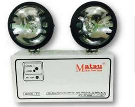 Luces de Emergencia Marca Matsu Oferta