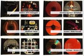 Cds Originales Shakira, Christina Aguilera, Bon Jovi, Red Hot Remate