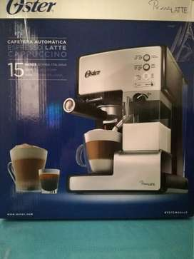 Vendo cafetera automática Oster PrimaLatte NUEVA