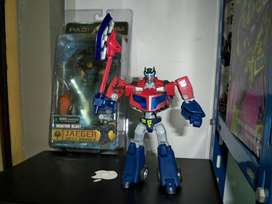 Transformers Animated Optimus Prime Battle Damage