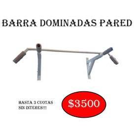 BARRA DOMINADAS PARED