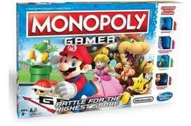 Monopoly Gamer Super Mario Bros Español + Envío Y Obsequio