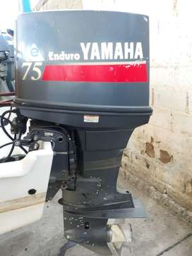 2 Motores fuera de borda yamaha 75 hp