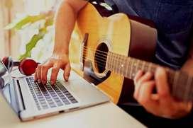 Clases de Guitarra ON-LINE para principiantes